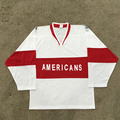 Sublimation Team Design Name/Number Custom USA Hockey Jersey