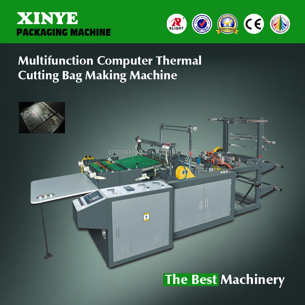 Fully automatic Multifunction Computer Thermal Cutting Bag Making Machine
