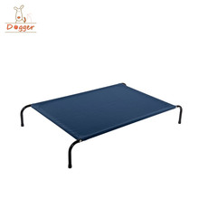 raised dog bed pvc/standard elevated chew-proof dog bed/outdoor pet iron bed