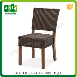 High quality wicker rattan dining table and chair set