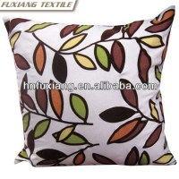 Tree Leaves Printed Cushion Butt Pillow Fireproof Cushion Covers