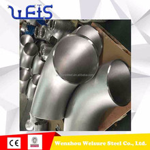 Factory price 316 304 4 inch carbon steel&stainless steel butt welding pipe fitting elbow