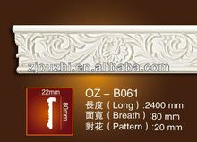 Polyurethane Carved plain mouldings / pu cornice for Hone&Interior decoration