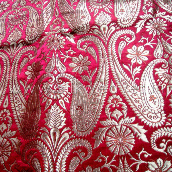 Silk Zari Special Brocade Fabric