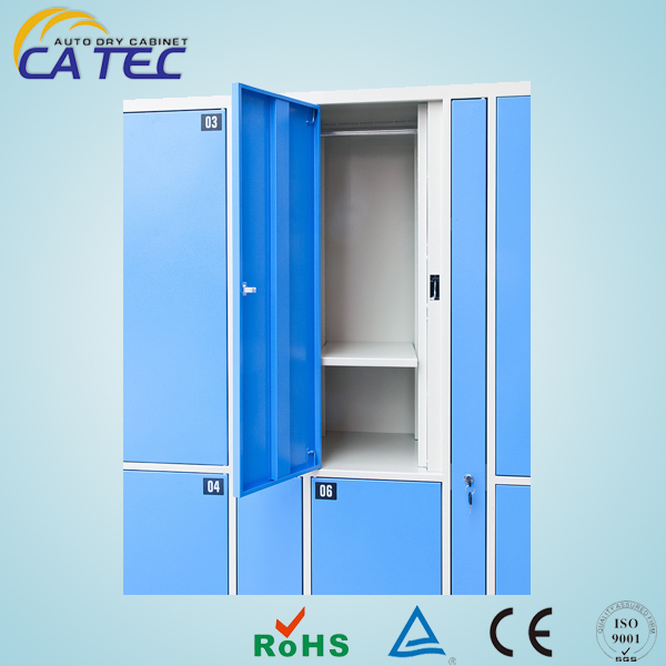 CE certified electronic clothing lockers for changing room