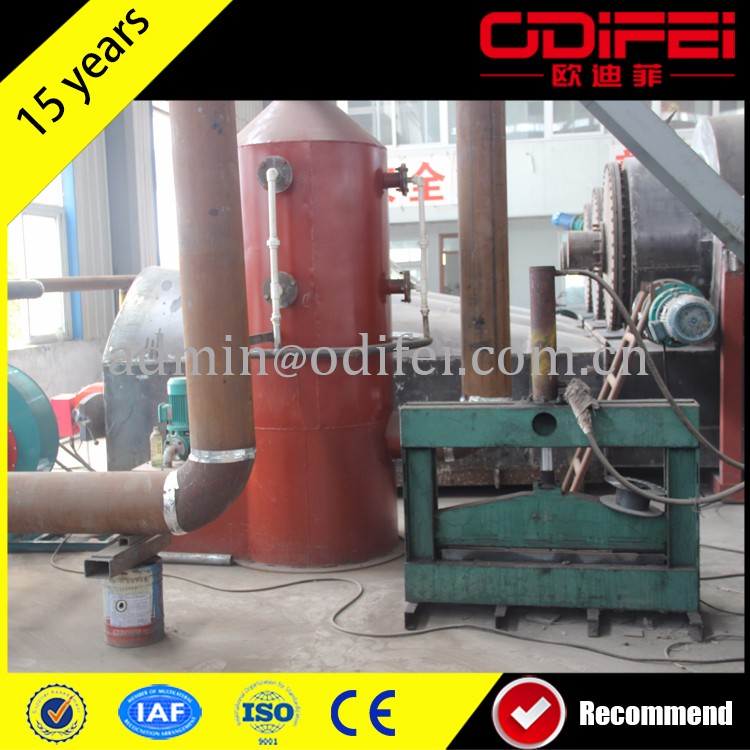lowest price waste tyre pyrolysis machine /waste tire refining machine /tire recycling machine 0086 18703680693 made in China
