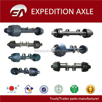 12T Germany type BENZ/SAF/BPW truck axle manufacturer