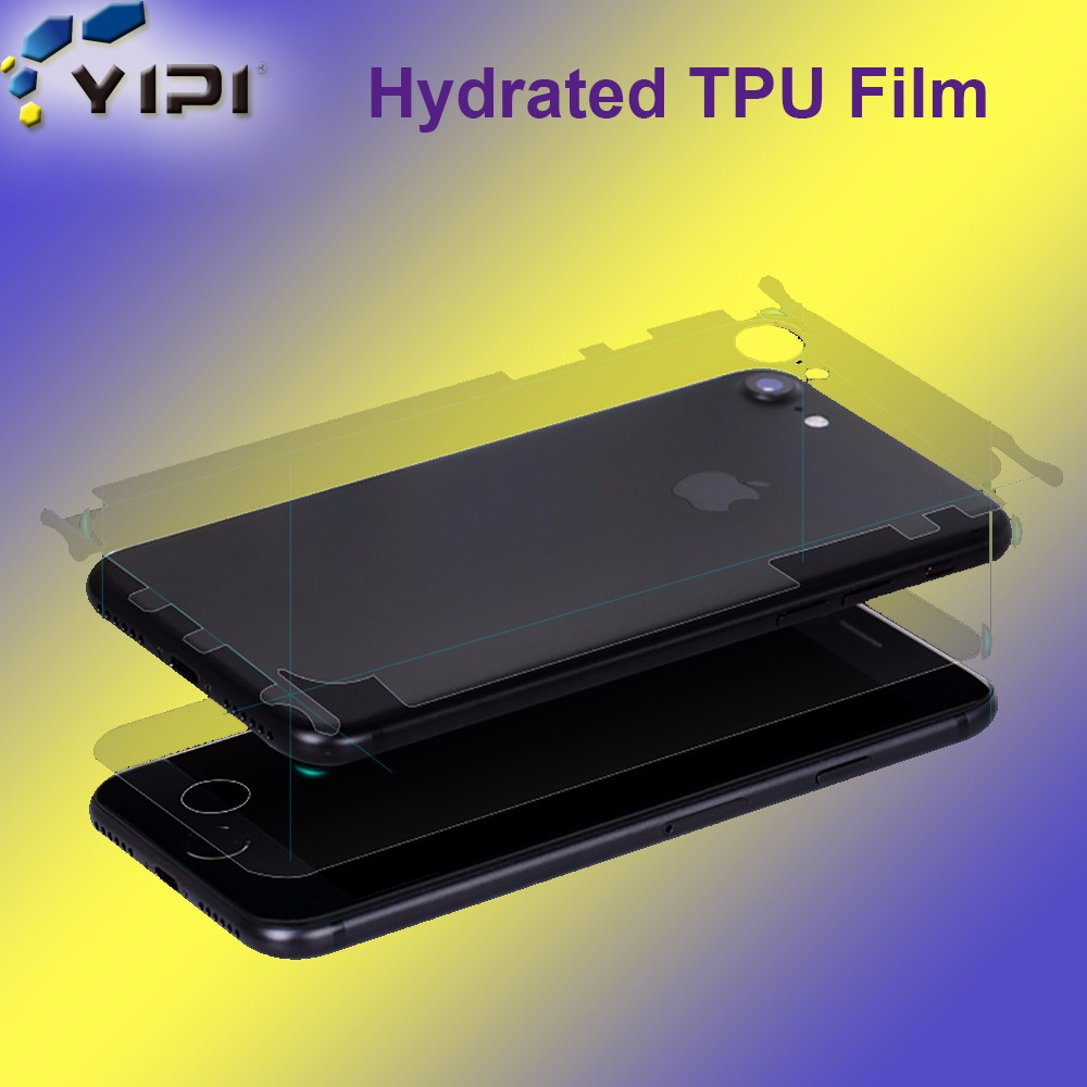 Full Cover TPU Invisible Shield Screen Protector For Iphone 7& 7 Plus, Nano Liquid Anti Shock Screen Protector~