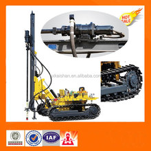Small crawler down hole drill/rock drill rig KGH5(with dryer and dust collection)