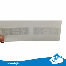 860MHz-960MHz Long Range Passive RFID Sticker Tag for Logistics Tracking