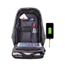 OEM Anti theft Backpack Waterproof USB Charging Travel Backpack Business Laptop Book School outdoor Anti theft usb backpack