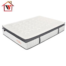 Bedroom Furniture Memory Foam Roll Up 12 Inch Pocket Spring Mattress