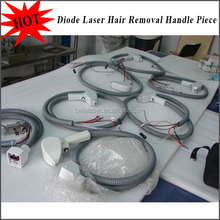 808 diode laser hair removal semiconductor cooling handpiece