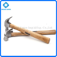 High Carbon Steel Wood Claw Hammer With Wood Handle