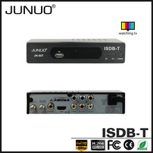 junuo china high quality production full HD isdb-t digital tv reception box