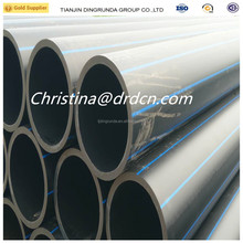 high quality hdpe pipe sdr17 plastic pe pipe from 32mm to 1000mm plastic pipe