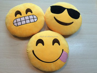 Top quality comfortable soft emotion face style pillow