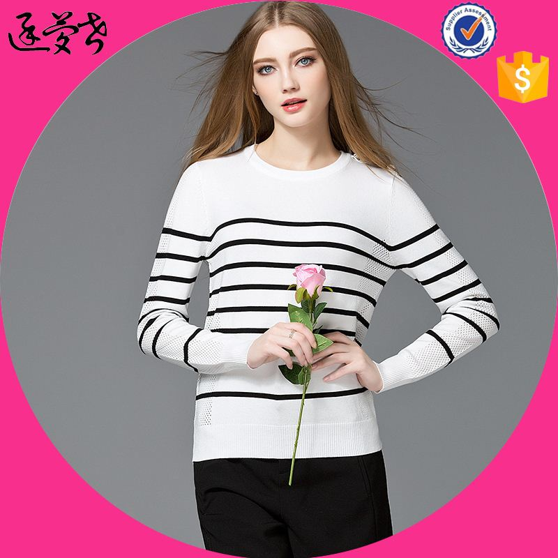 2017 New Style Knit Sweater, Wool Handmade Sweater Design for Girl