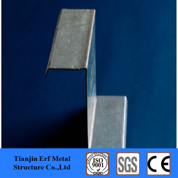 Low price hot rolled z steel section/galvanized Z purlin/z beam steel