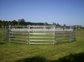 Ranch easy assembled fence designs wholesale bulk livestock cattle panels