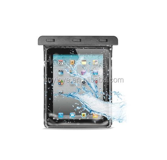 Waterproof Tablet Pouch Dry Bag PVC waterproof pouch bag for ipad