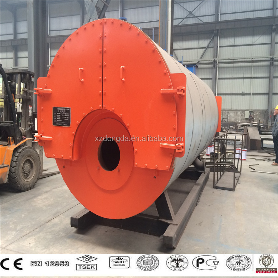 Gas/oil Fuel Horizontal Steam Boiler From Xuzhou Dongda On Sale