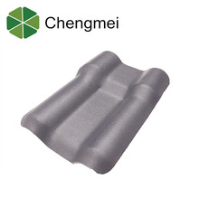 Spanish style synthetic resin plastic roof tiles