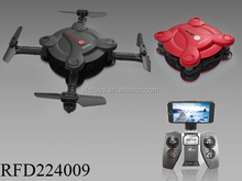 Wholesale mini pocket foldable rc drone with headless quadcopter helicopter drone