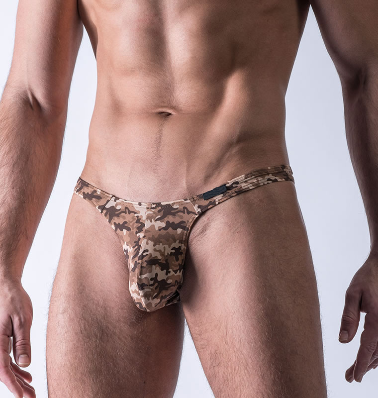 Hot selling Camouflage pictures of men in thong K837-DK