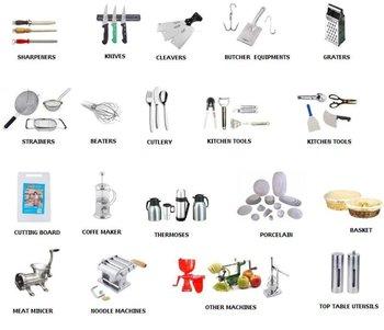 Professional kitchen utensils buy professional items sharpener butcher knives epinox ivo meat - Lista utensili da cucina ...