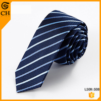 Men's Polyester Fabric Striped Party Necktie Online