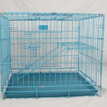 Foldable Dual Floor Cat Cage, Colorful Factory Sales Good Quality Cat Cage
