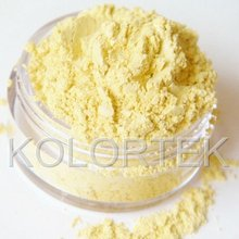 Cosmetic Mica Powder Yellow Pigment