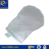 non-woven plastic ring size 1 sewn filter bag 15 micron filter