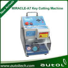 Newest Korea MIRACLE A7 Key Cutting Machine with Bluetooth Communication and mobile support
