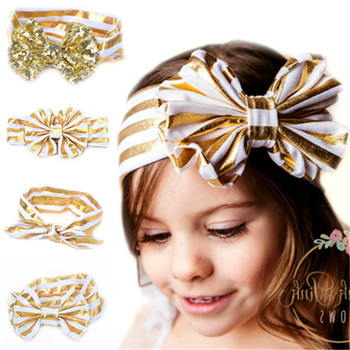 MS70032W European style baby girls with bowknot hair band