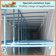 20ft 40ft 45ft shipping container for hanging garments, clothes, trousers