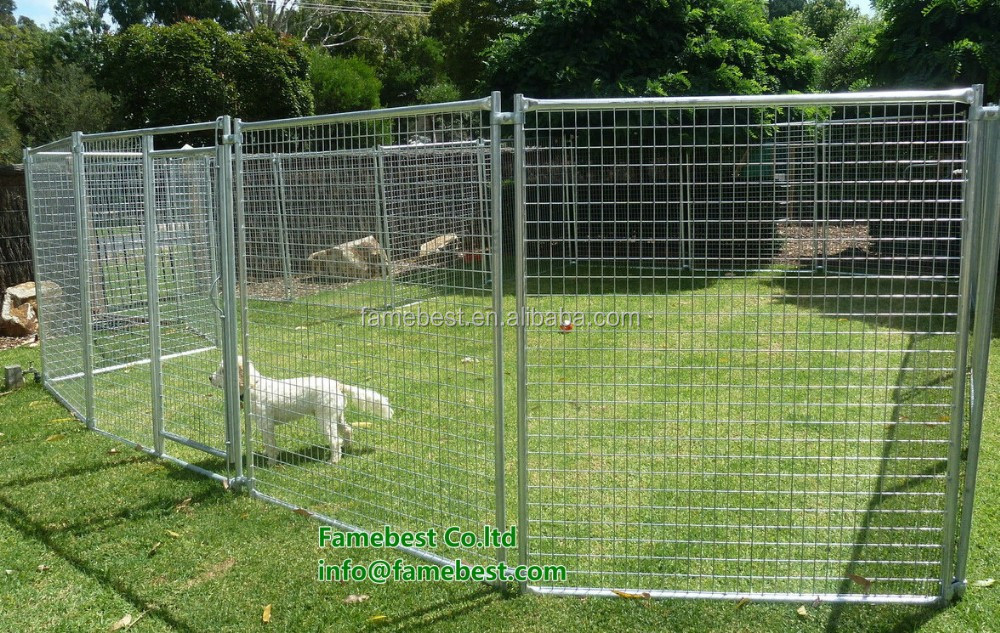 Large Pet Enclosure Dog kennel Run Animal Fencing Sheep Chook Goat fence