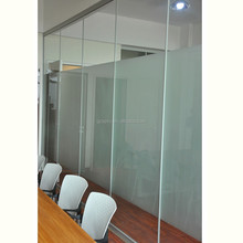 Aluminium glass office partition soundproof office partition used frosted glass office partitions