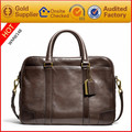 genuine leather men handbags brand famous bags with shoulder strap