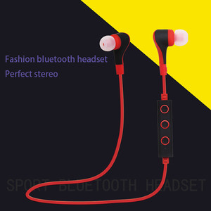 High Quality Noice Cancelling Sport Ear Hook Wireless Headset Earphone with MIC