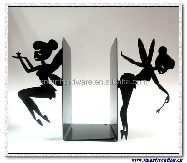 Lovely Fairy book stands metal book ends