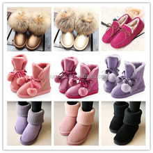 Fashion cheap winter shoes warm women snow boots high quality