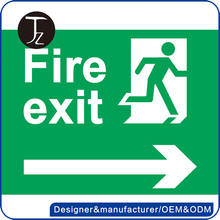 HOT Selling Photoluminescent Emergency Exit Safety Signs