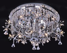 2015 new arrival wholesales crystal light RoHS /great quality flush mount
