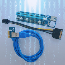 Newest Power Supply ngff to pci-e*4 port card Sata cable