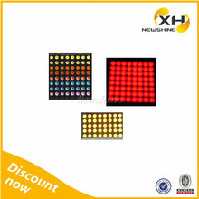 Free Sample Indoor Outdoor using High Brightness led dot matrix message board