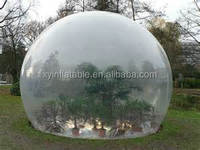 transparent bubble inflatable greenhouse
