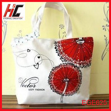 high quality new style cnvas school bag shopping bags handbag in los angeles