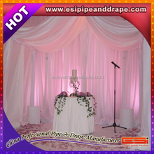 ESI factory Aluminum Pipe and Drape , Cheap Pipe Drape Pipe and Drape for Booth